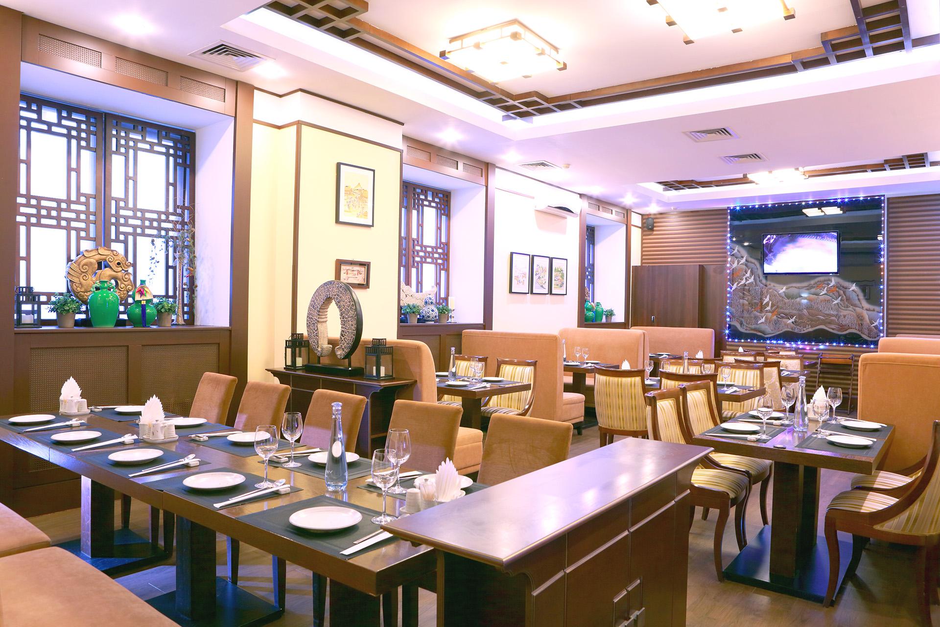 Ресторан с тихой музыкой в центре Москвы