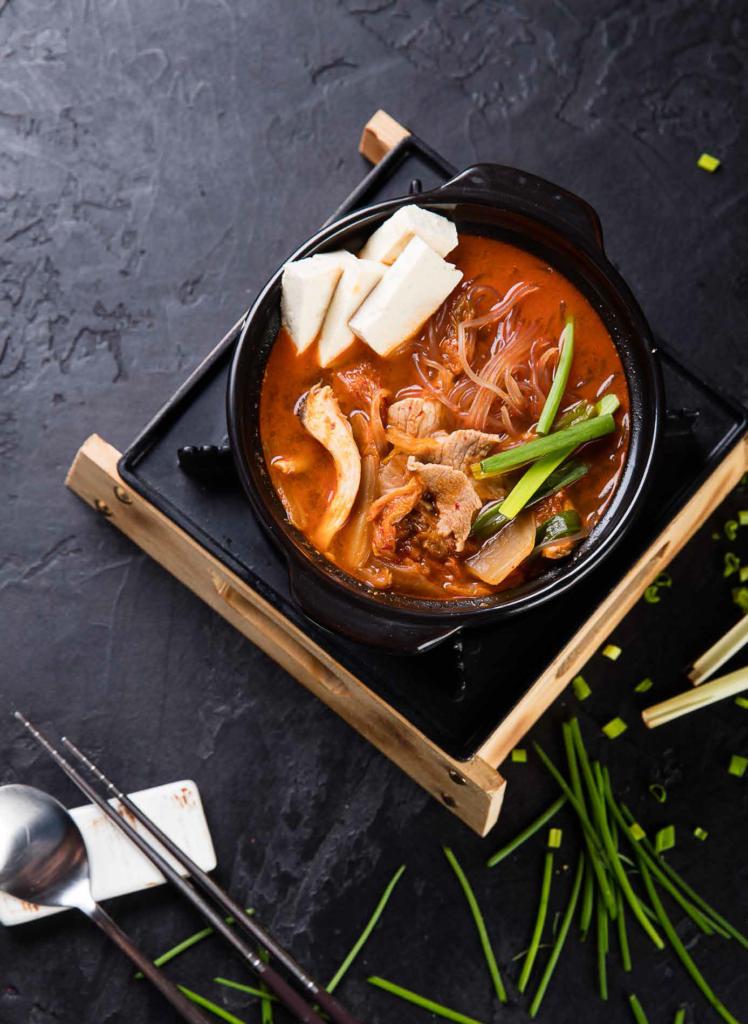 Кимчи-тиге со свининой / 김치찌개 / Kimchichige with pork