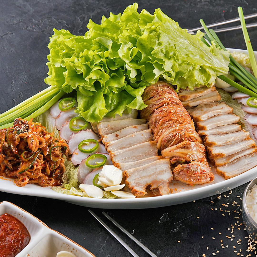 Доставка еды корейской кухни Белый Журавль с доставкой еды на дом-06