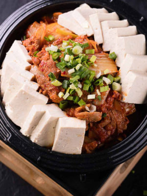 Тубу кимчи / 두부김치 / Tubu Kimchi