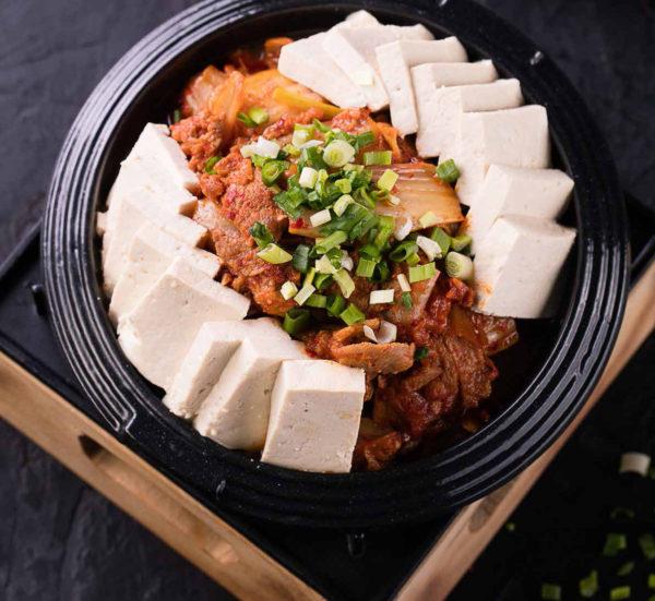 Тубу кимчи / 두부김치 / Tubu Kimchi из говядины
