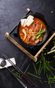 Кимчи-тиге с говядиной / 쇠고기김치찌개 / Kimchichige with beaf