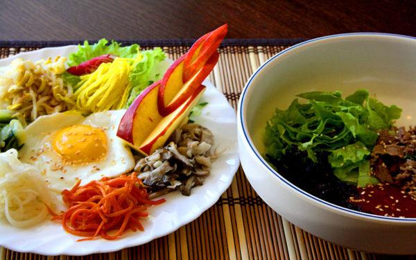 Санче пибимпаб / 산채비빔밥 / Sanche Pibimpab