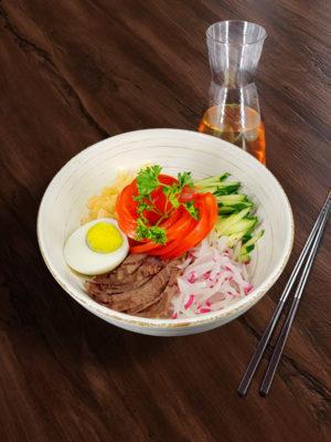 Корейское блюдо Нянкук с доставкой по Москве